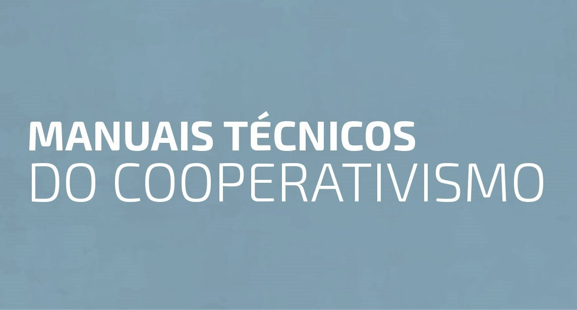 Manuais técnicos do cooperativismo